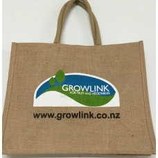STYLISH GROWLINK SHOPPING NATURAL JUTE BAG 100% BIODEGRADABLE