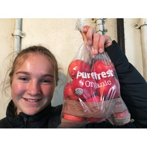 PUREFRESH ORGANIC NZ ROSE APPLES  1KG Bag