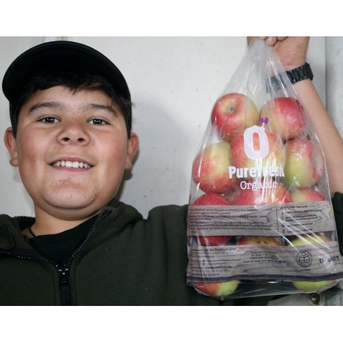 PUREFRESH ORGANIC PINK LADY APPLES  1.5KG Bag Hawkes Bay Grown