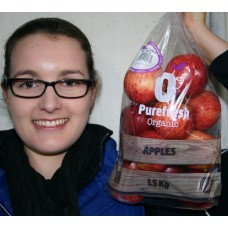 PUREFRESH ORGANIC ROYAL GALA APPLES 1.5KG Bag