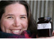 BLACKBERRY & APPLE JAM  300 ml From Happy Pantry Katikati