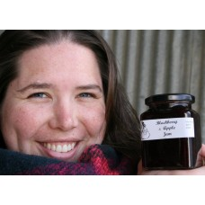 BLACKBERRY & APPLE JAM  300ml From Happy Pantry Katikati
