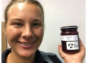 ELDERBERRY JAM 250 ml From Happy Pantry Katikati