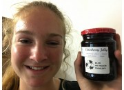 ELDERBERRY JELLY 250 ml From Happy Pantry Katikati