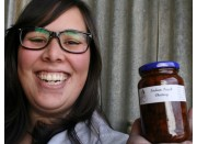 INDIAN PEACH CHUTNEY  375 ml From Happy Pantry Katikati