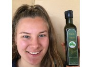 BASIL INFUSED EXTRA VIRGIN OLIVE OIL COLD PRESSED  NOT BIODYNAMIC CERTIFIED 250ml From Viridis Grove Katikati