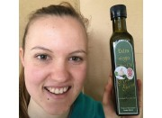 GARLIC INFUSED EXTRA VIRGIN OLIVE OIL COLD PRESSED  BIODYNAMIC CERTIFIED 250ml From Viridis Grove Katikati