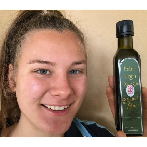 LECCINO EXTRA VIRGIN OLIVE OIL COLD PRESSED - 250ml from Viridis Grove Katikati