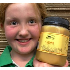 CLOVER HONEY  CREAMED 1KG From Katikati Honey