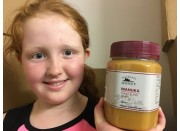MANUKA HONEY BLEND MG 26+ CREAMED 1KG From Katikati Honey