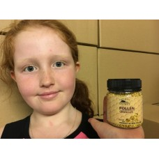 NATURAL BEE POLLEN GRANULES 125 Grams From Katikati Honey