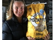 GENUINE NEW SEASONS AGRIA POTATOES  10 KG Bag Pukekohe Grown