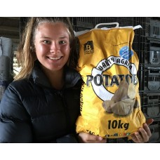 GENUINE AGRIA POTATOES  10 KG Bag Pukekohe Grown