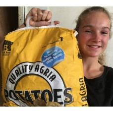 GENUINE NEW SEASONS AGRIA POTATOES  5 KG Bag Pukekohe Grown
