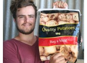 NEW SEASONS RUA POTATOES  5 KG Bag Pukekohe Grown